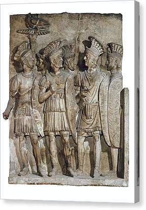 Soldiers Of The Praetorian Guard. 2nd Canvas Print by Everett