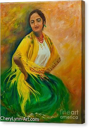 Soledad Canvas Print by CheryLynn Ferrari