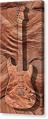 Solid As A Rock Panoramic Canvas Print
