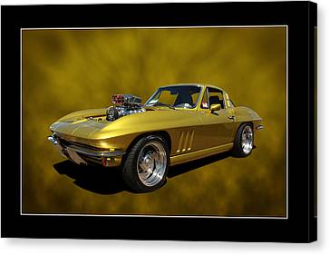 Canvas Print featuring the photograph Solid Gold by Keith Hawley