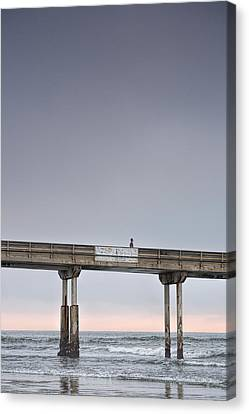 Solitary Canvas Print by Peter Tellone