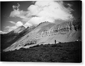 Solitude Below Sperry Glacier Canvas Print
