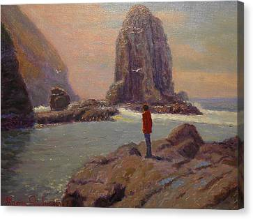 Solitude Cannibal Bay Canvas Print