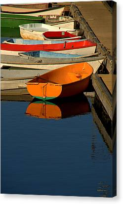 Canvas Print featuring the photograph Solitude by Caroline Stella