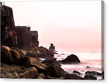 Canvas Print featuring the photograph Solitude by Edgar Laureano