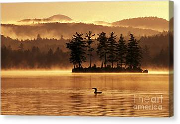 Solitude Canvas Print by Jim Block