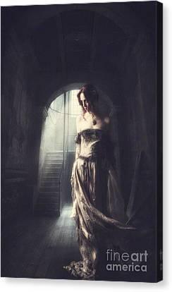 Solitude Canvas Print by Lee-Anne Rafferty-Evans