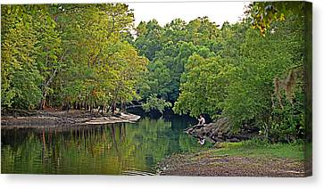 Canvas Print featuring the photograph Solitude by Linda Brown