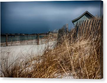 Solitude On The Cape Canvas Print by Jeff Folger