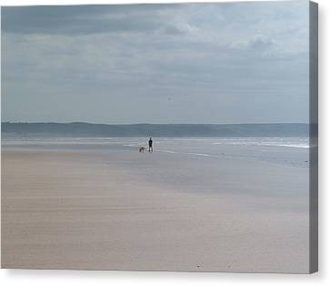 Solitude Canvas Print by Richard Brookes