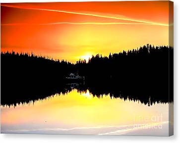 Solitude Canvas Print by Robert Bales
