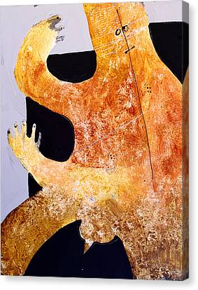 Primitive Nude Canvas Print - Sollemne No. 6 by Mark M  Mellon