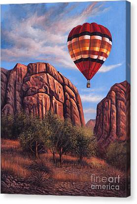 Solo Crossing Canvas Print