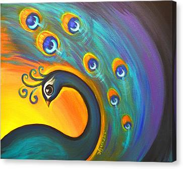 Solo Dance Vortex Canvas Print