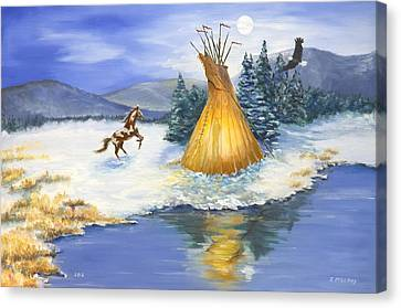Solstice Canvas Print by Jerry McElroy