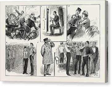 Reviving Canvas Print - Some Of The Comic Elements In The Grounding Of A Troopship by English School