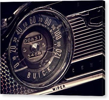 Speedometer Canvas Print - Some Speed by Odd Jeppesen