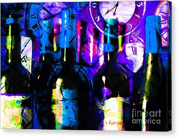 Some Things Get Better With Time M150 Canvas Print by Wingsdomain Art and Photography