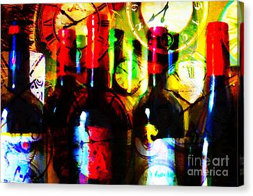 Some Things Get Better With Time Canvas Print by Wingsdomain Art and Photography