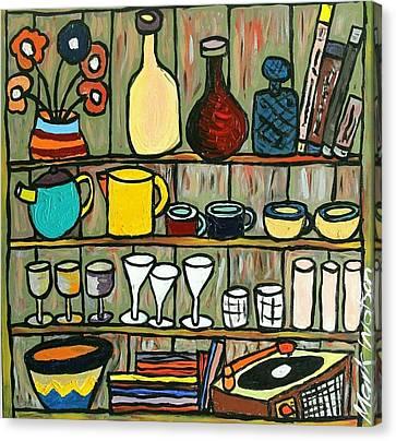 Somebody's Shelf Canvas Print