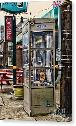Law Enforcement Canvas Print - Someone Call The Police by Paul Ward