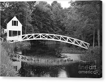 Somesville Bridge  Canvas Print by Christiane Schulze Art And Photography