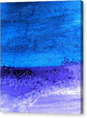 Something Blue Canvas Print by Andrea Anderegg