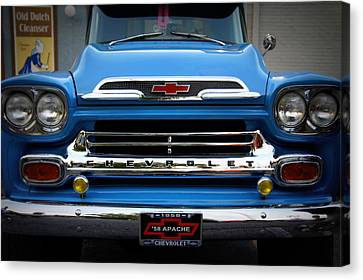 Something Bout A Truck Canvas Print