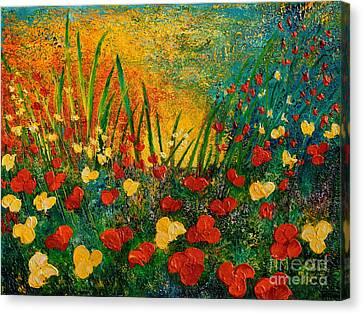 Something I Love Canvas Print by Teresa Wegrzyn