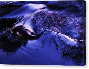 Canvas Print featuring the photograph Something In The Way She Moves by Sean Sarsfield