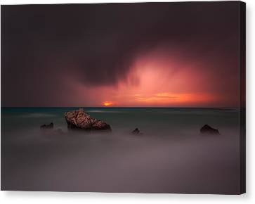 D700 Canvas Print - Something Is Coming by Tomasz Huczek