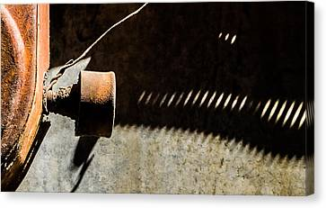 Canvas Print featuring the photograph Something Old - Abstract by Steven Milner