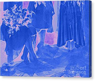 Maid Of Honor Canvas Print - Something Old Something New Something Borrowed Something Blue By Jrr by First Star Art