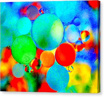Something Out Of Nothing Canvas Print by Wayne King