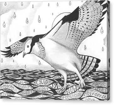 Osprey Canvas Print - Sometimes A Great Catch by Helena Tiainen