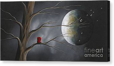 Sometimes He Just Wants To Be Alone By Shawna Erback Canvas Print by Shawna Erback