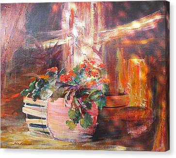 Somewhat Faded Glory Canvas Print by John  Svenson