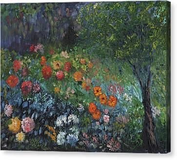 Somewhere A Garden Canvas Print by William Killen