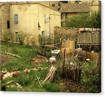 Canvas Print featuring the photograph Somewhere In France by Colleen Williams