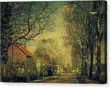 Somewhere Somewhen. Netherlands Canvas Print