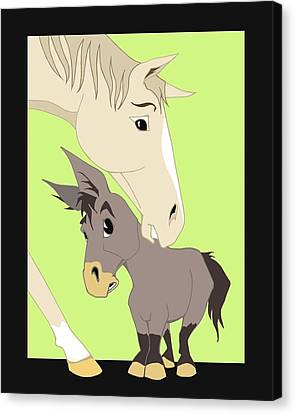 Son Of A Jackass Canvas Print by Tammy Long
