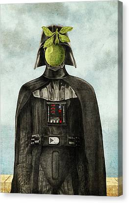 Son Of Darkness Canvas Print by Eric Fan