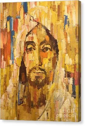 Son Of Man Canvas Print by Lutz Baar