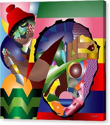 Son Of The Bakoda Canvas Print