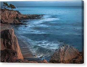 Song At The End Of Day--- Shell Beach Canvas Print by Tim Bryan