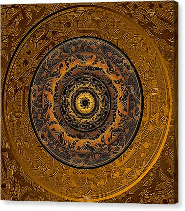 Song Of Heaven Mandala Canvas Print