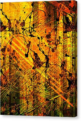 Song Of Love Canvas Print by Francine Collier