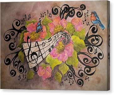 Song Of My Heart And Soul Canvas Print