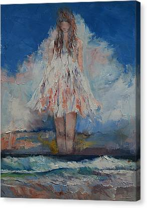 Song Of September Canvas Print by Michael Creese