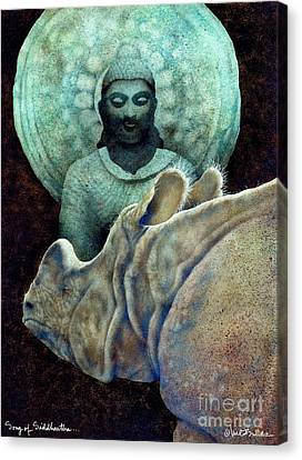 Song Of Siddhartha... Canvas Print by Will Bullas